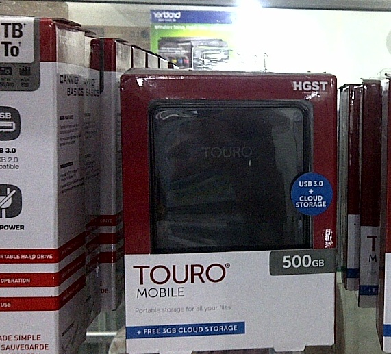 Jual HGST Hitachi TOURO Mobile 500GB Hard Disk External 2