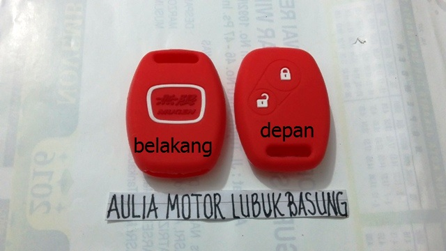 kondom silicon remote honda jazz mobilio freed brio 2 tombol merah 1bh