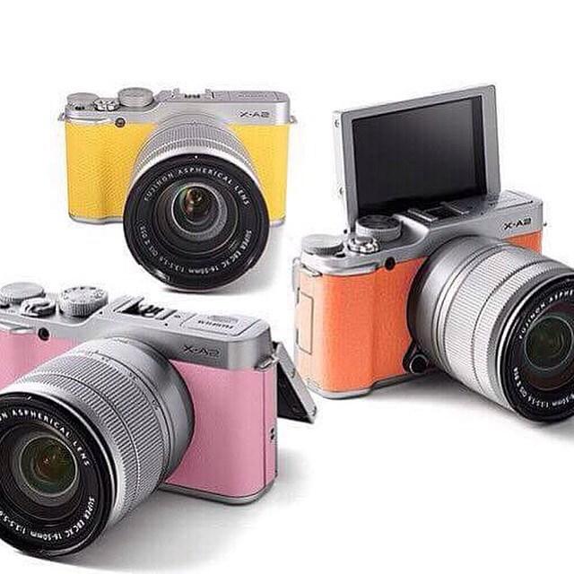 Jual Kamera Fujifilm XA2 Yellow Kit XC 16 50mm F35 56 OIS