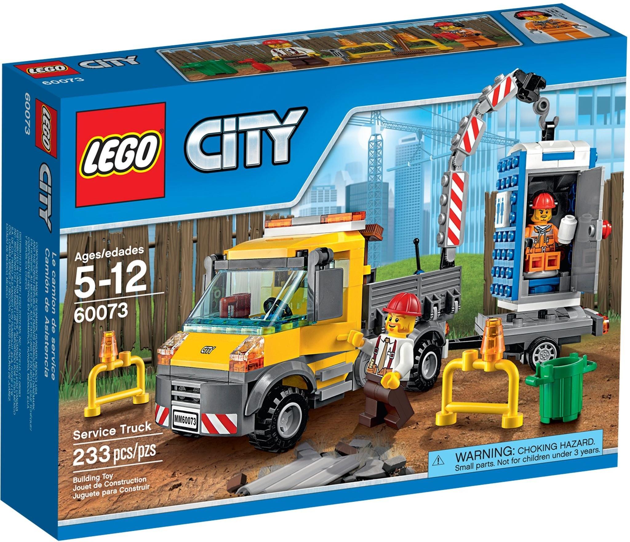LEGO 60073 - City - Service Truck