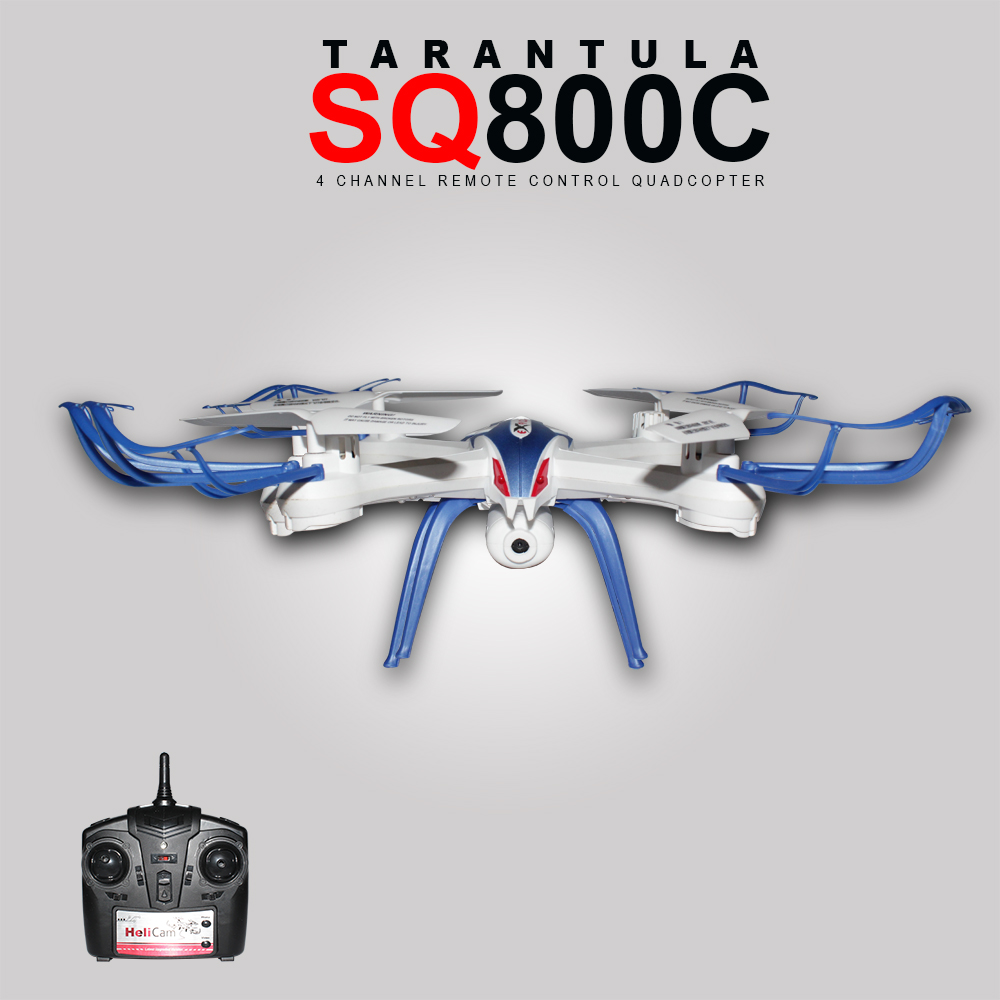 HobbyMall Tarantula SQ800C Drone Camera 2MP Quadcopter 2,4Ghz