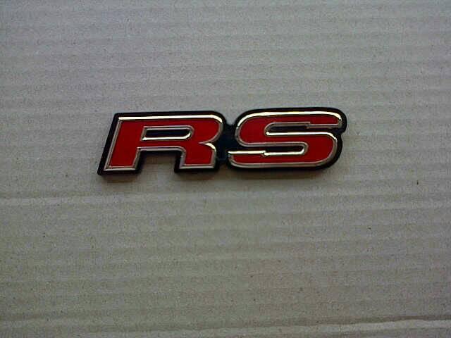 Emblem Honda RS  model ori untuk Jazz, Mobilio, CRV