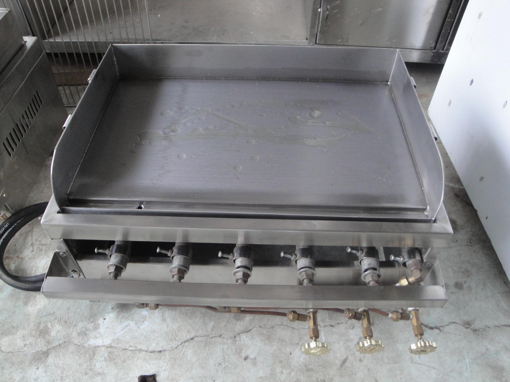 Jual Griddle Gas Tepanyaki Portable Burger Grill Flat Top Fen Online Tokopedia