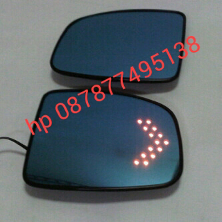 Honda jazz Gk  blue mirror with led sign