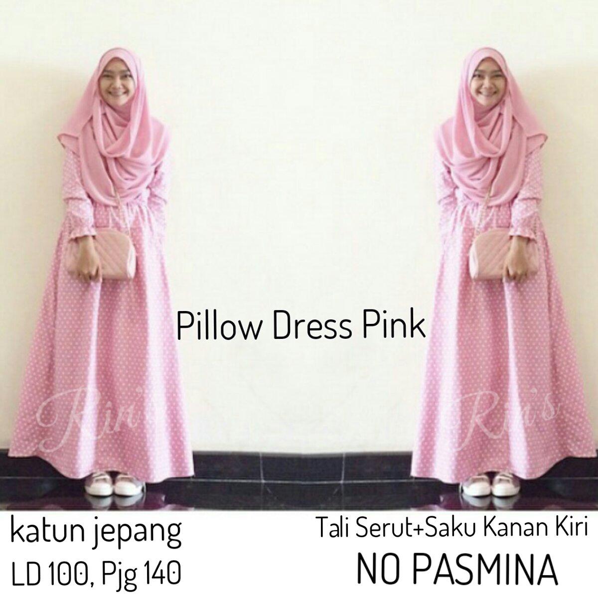 Supplier Hijab Ori : pilow dres ori rins