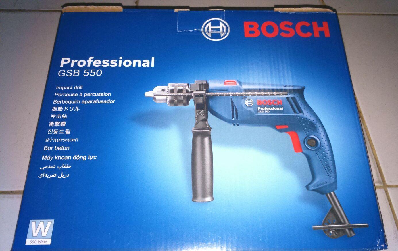 Harga Jual Mesin Bor Tembok Bosch Gsb 550 Beton 16 Re Professional