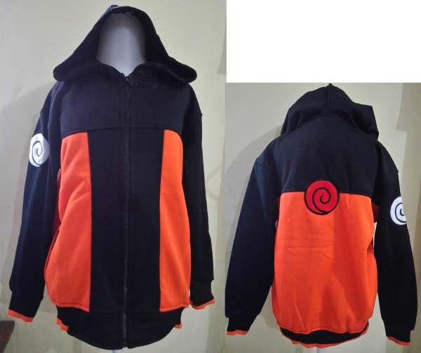 JKKDL40 - Jaket Anak Naruto Logo