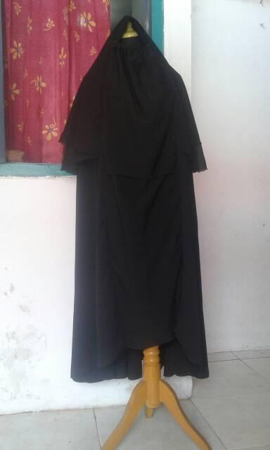 Hijab Cadar Rits Safar