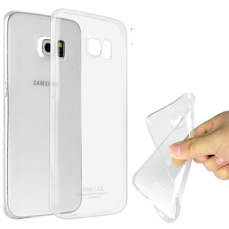 Primary Ultra Thin SILICONE Tranparan Case - Samsung S6 Edge TRANSPARA