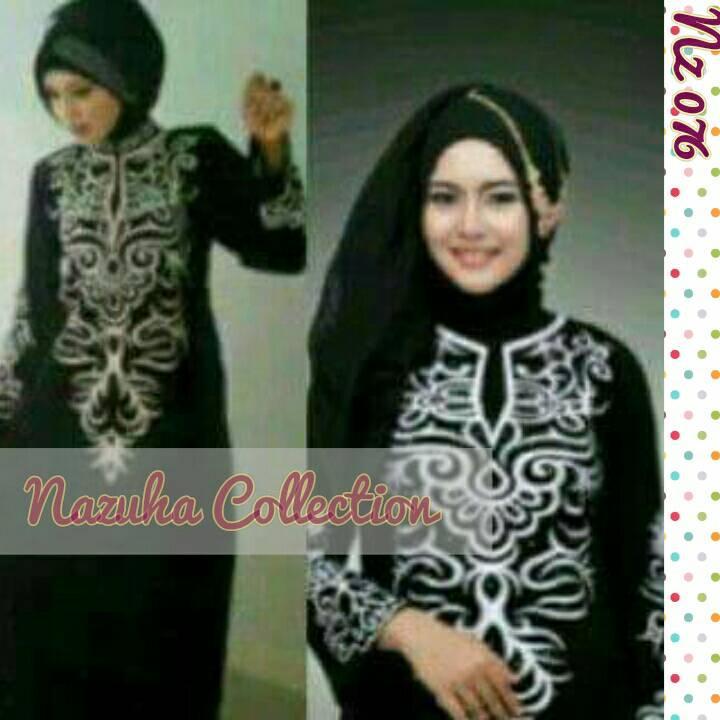 Abaya Brina (Gamis Syar'i, hijab, dress, gamis arab)