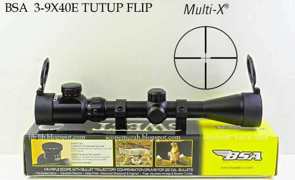 harga Teleskop Senapan Angin BSA SWEET 22 3-9x40E / Tele Scope Tokopedia.com