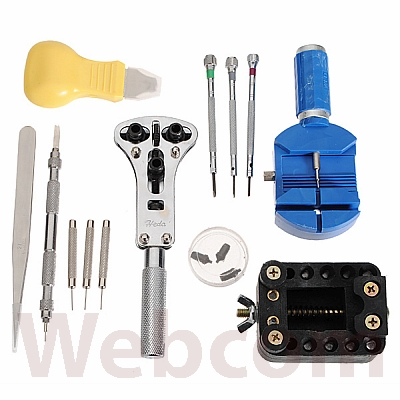 Alat Servis / Reparasi Jam Tangan Jackly Watch Repair Tool Kit