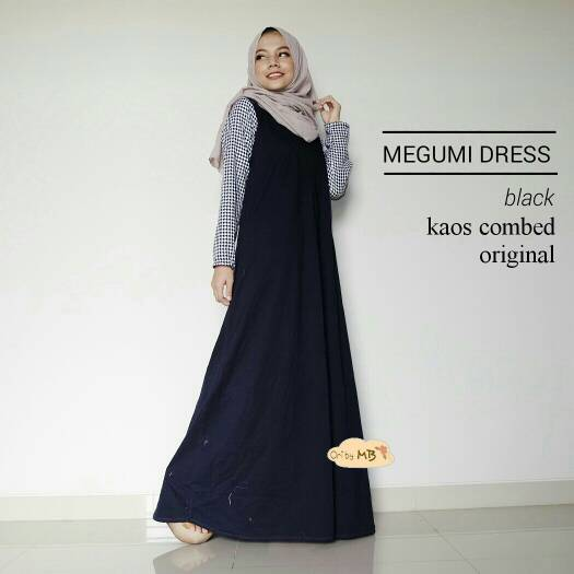 MEGUMI DRESS ORI BY MB / SUPPLIER BAJU HIJAB