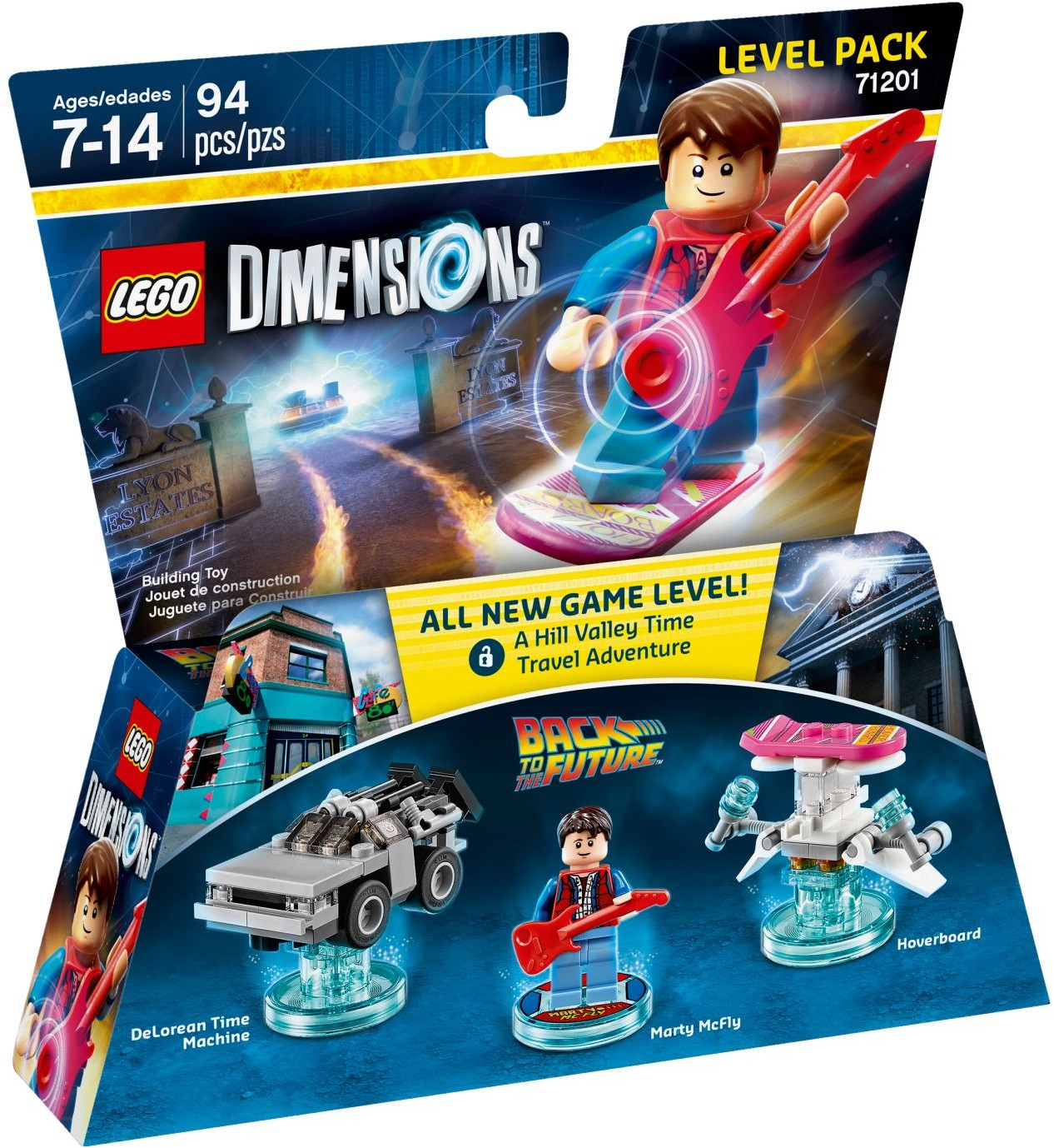 LEGO 71201 - Dimensions - Level Pack: Back To The Future
