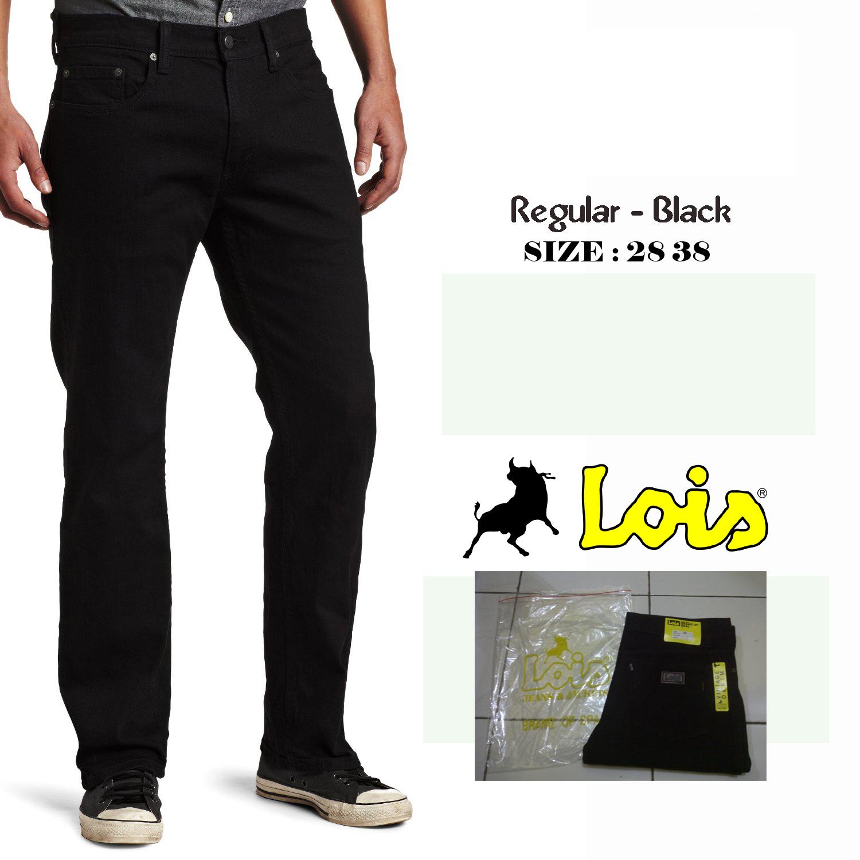 Jual Celana Jeans Lois Standard Greenzshop Tokopedia Fashion Panjang Standar Biru