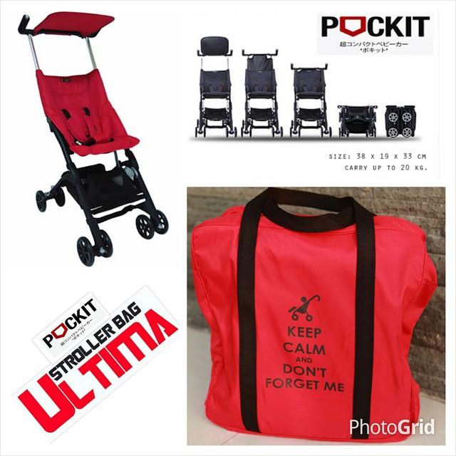 Ultima Pock It Stroller Bag