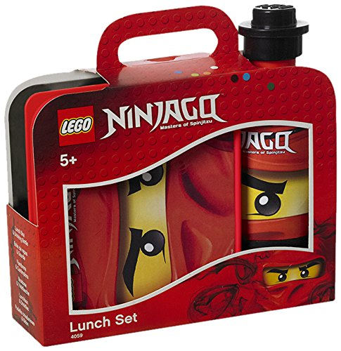 LEGO RC40591733 Red/Black Ninjago Lunch Set