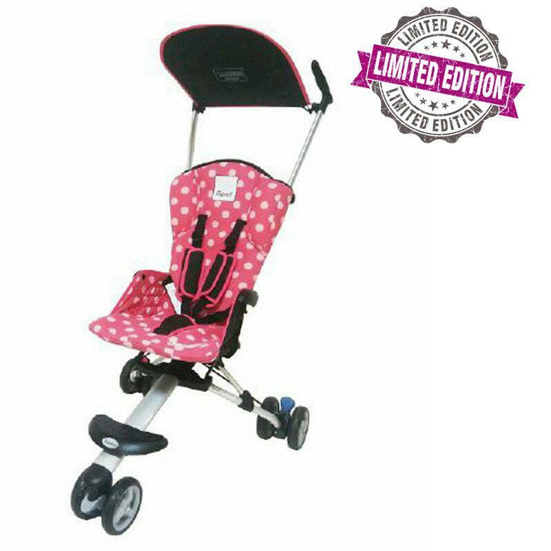 Kereta Cocolatte 08 Isport WCX21 Pink Limited Edition