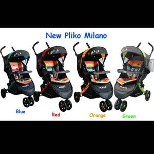 Kereta pliko milano, RED,BLUE,GREEN,ORANGE Murah