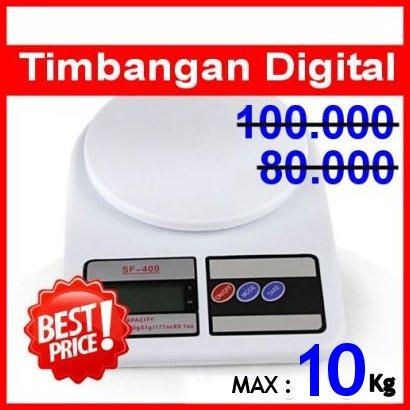 Sf Timbangan Digital Elegan 10kg Putih Lazada Indonesia Timbangan Digital Max 10 Kg .