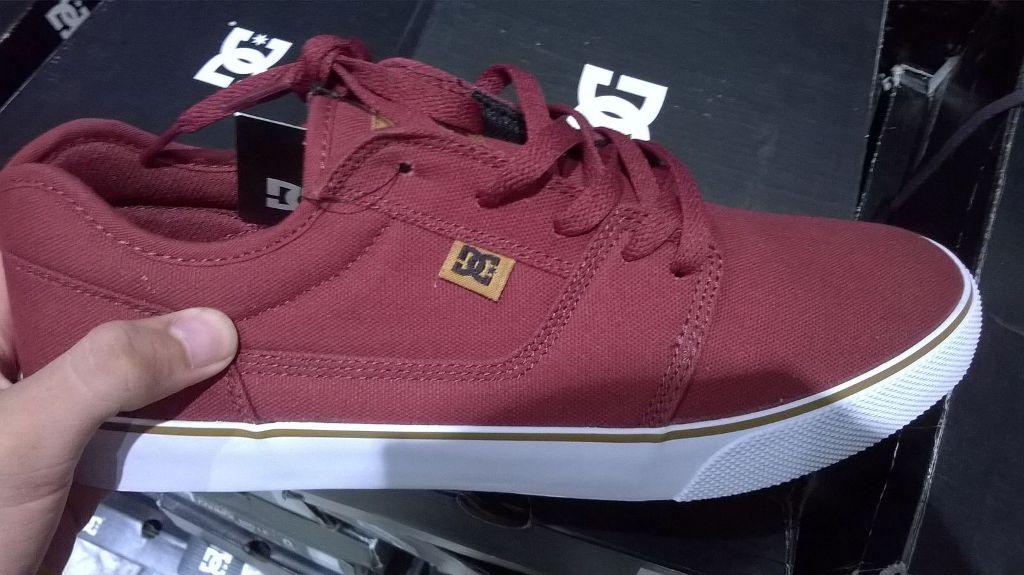 Jual Sepatu Skate DC Tonik TX Pump Low Maroon Original ... 08c7bfea79
