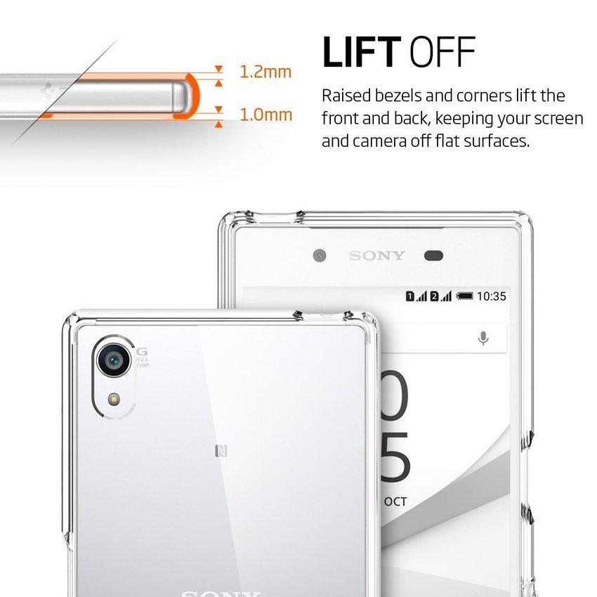 Spigen Ultra Hybrid Clear for Sony Z5