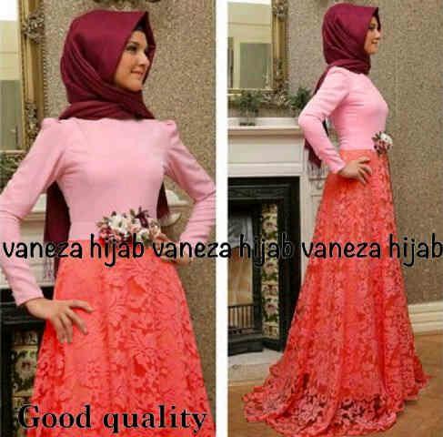 Hijab Vanesa Salem 2in1 ( Maxi + Pashmina )
