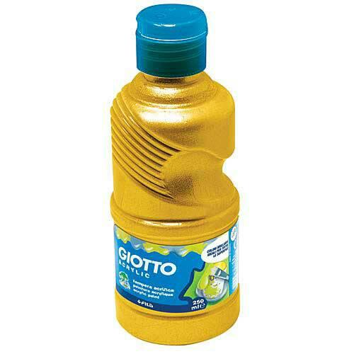 Giotto Acrylic Paint Bottle 250 Ml Gold - Ref.533800