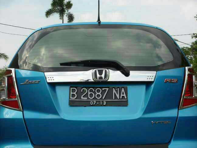 trunk lid allnew jazz JSL