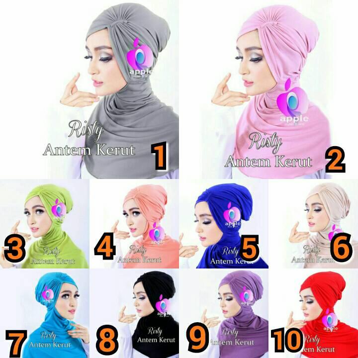 Inner Antem Kerut - Inner Ninja Kerut Antem By Apple Hijab Brand