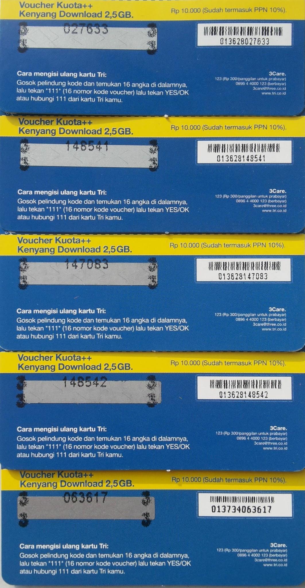 Tri Kuota 2 25gb Daftar Harga Terupdate Indonesia Kartu Perdana Dan Paket Data Mix 225gb Jual Voucher 125gb Jadi Kendo Kenyang Download