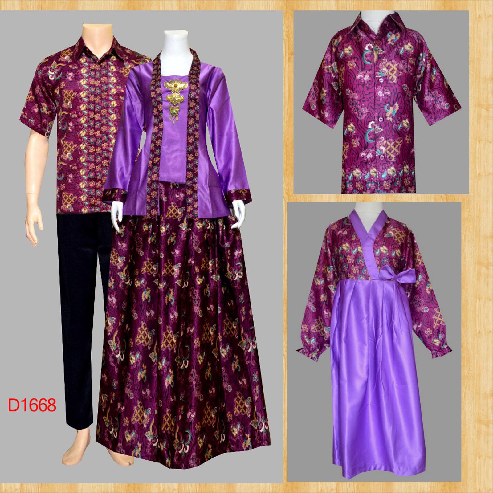 Jual Batik Sarimbit Keluarga Model Baju Batik Couple