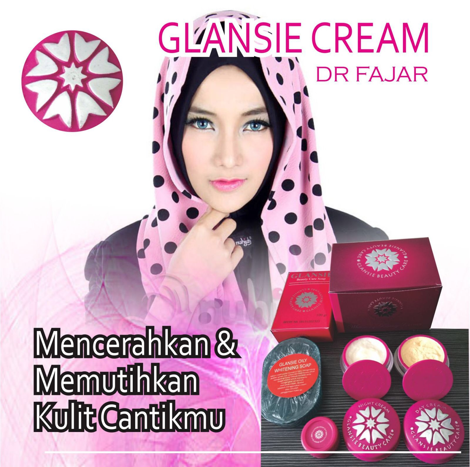 Glansie Beuty Care Whitening Beauty Cream Paket Normal Skin Daftar Skincare Sabun Batang Jual Original Rumah Spl Tokopedia