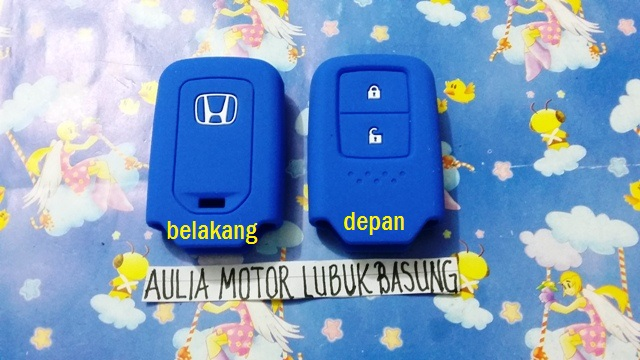 kondom silicon remote honda jazz rs hrv prestige accord city biru 1 bh
