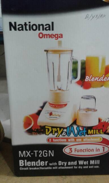 harga blender national omega glass Tokopedia.com