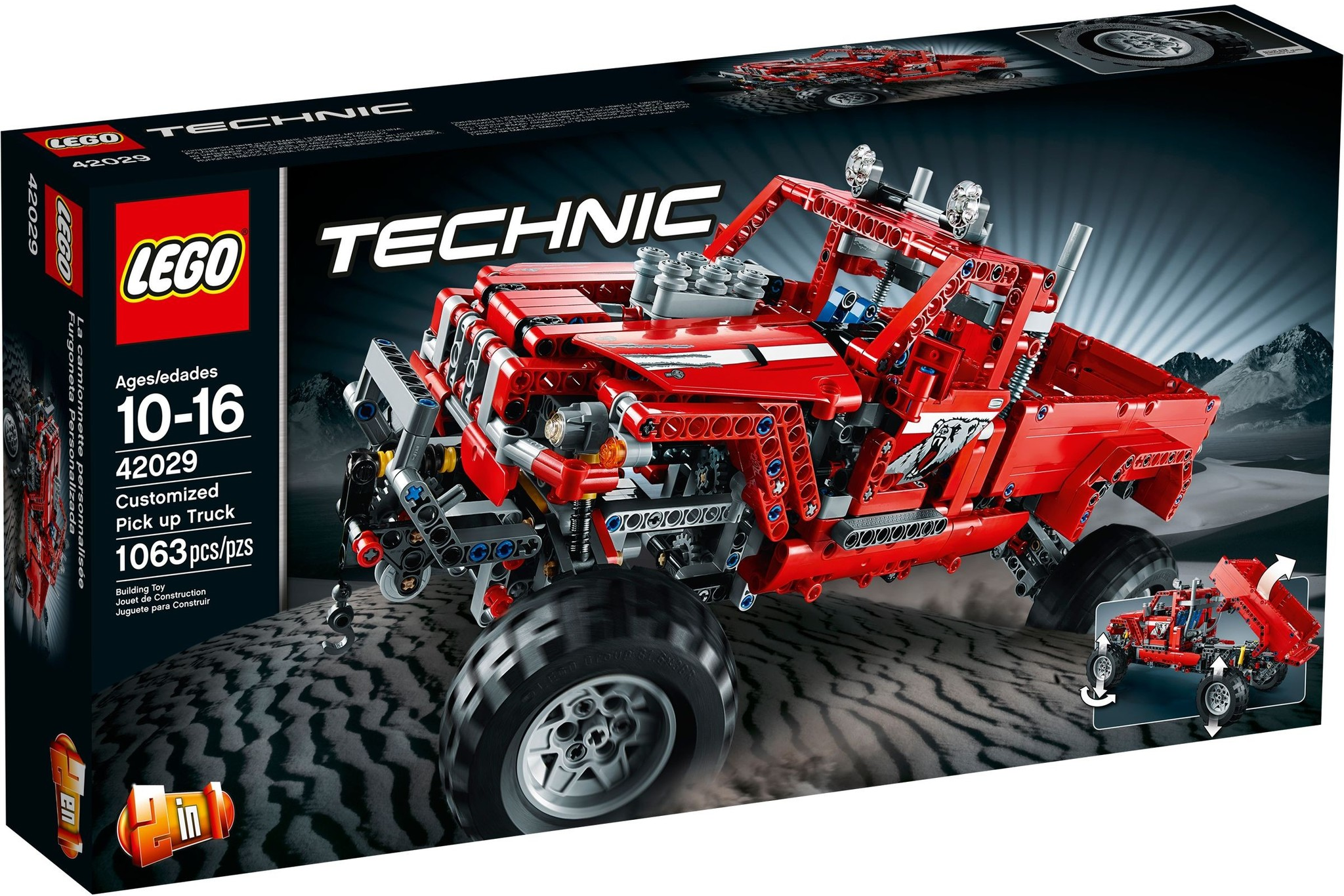 LEGO 42029 - Technic - Customised Pick-Up Truck