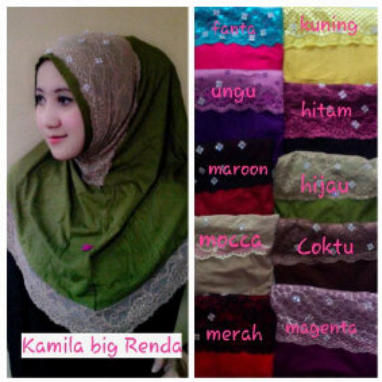 Hijab Kamila Big Renda