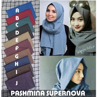 Hijab/Jilbab Pashmina Supernova