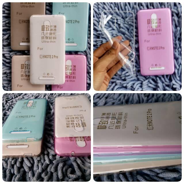 Jual Ultrathin Soft CasE Ultra thin softcase XIAOMI REDMI NOTE 3 BACK CASE - curzerif | Tokopedia