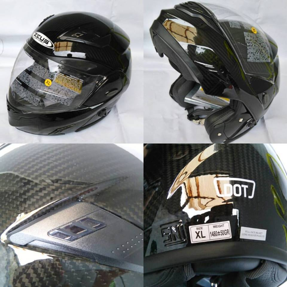 Jual Helm Zeus Welcome To Zs811 Black Al12 Red Review Modular