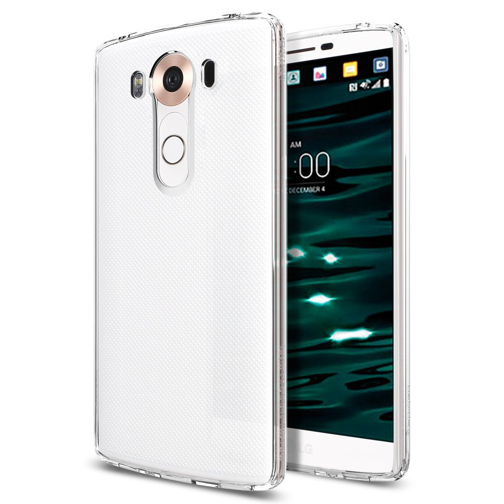 Spigen LG V10 Case Ultra Hybrid Crystal Clear