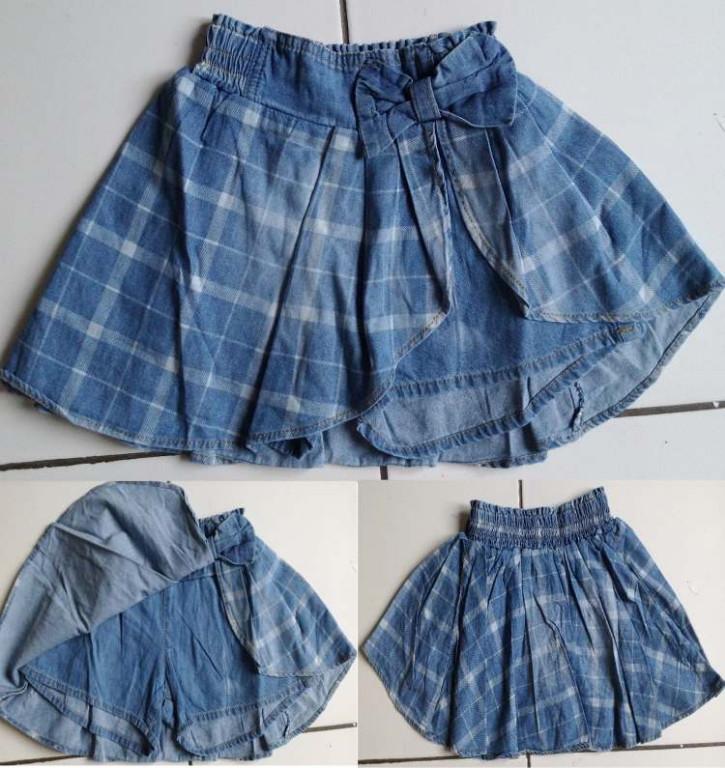 CLKD19 - Celana Rok Jeans Ribbon Murah