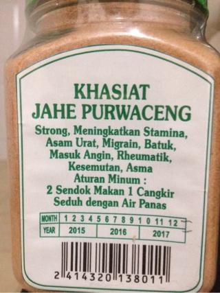 Hasil gambar untuk Purwaceng jahe