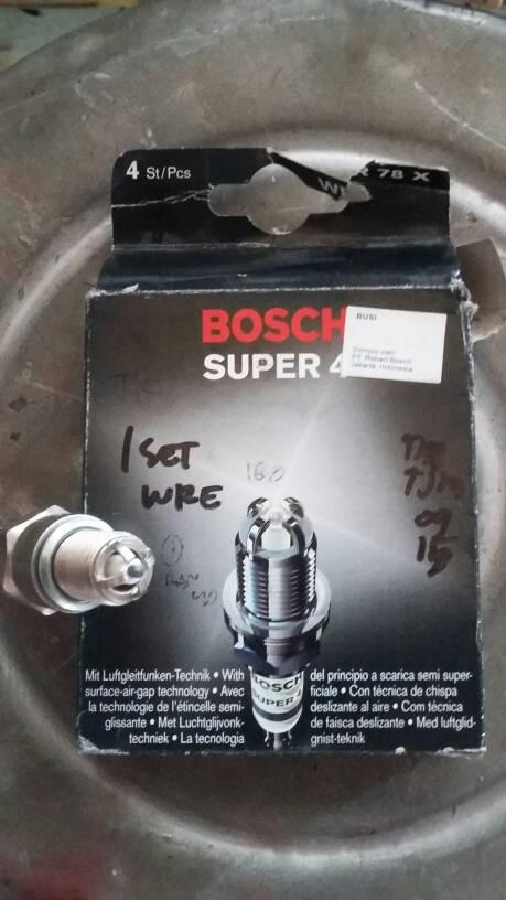 Busi Bosch Wr 78 x