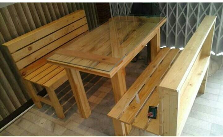 Jual furniture kayu jati belanda bekas palet pinewood for Jual kitchen set bekas