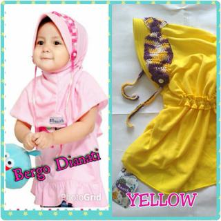 handmade hijab anak bergo dianati