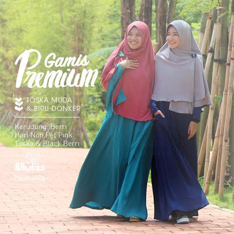 gamis premium hijab alila