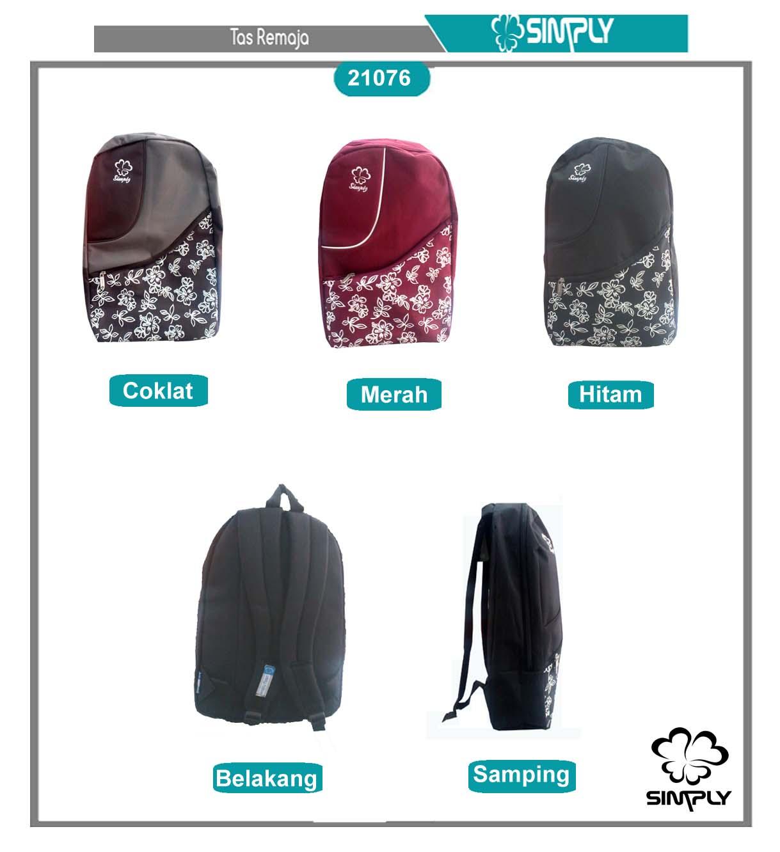 harga Ransel Bunga Sepatu, Brand Simply Tokopedia.com