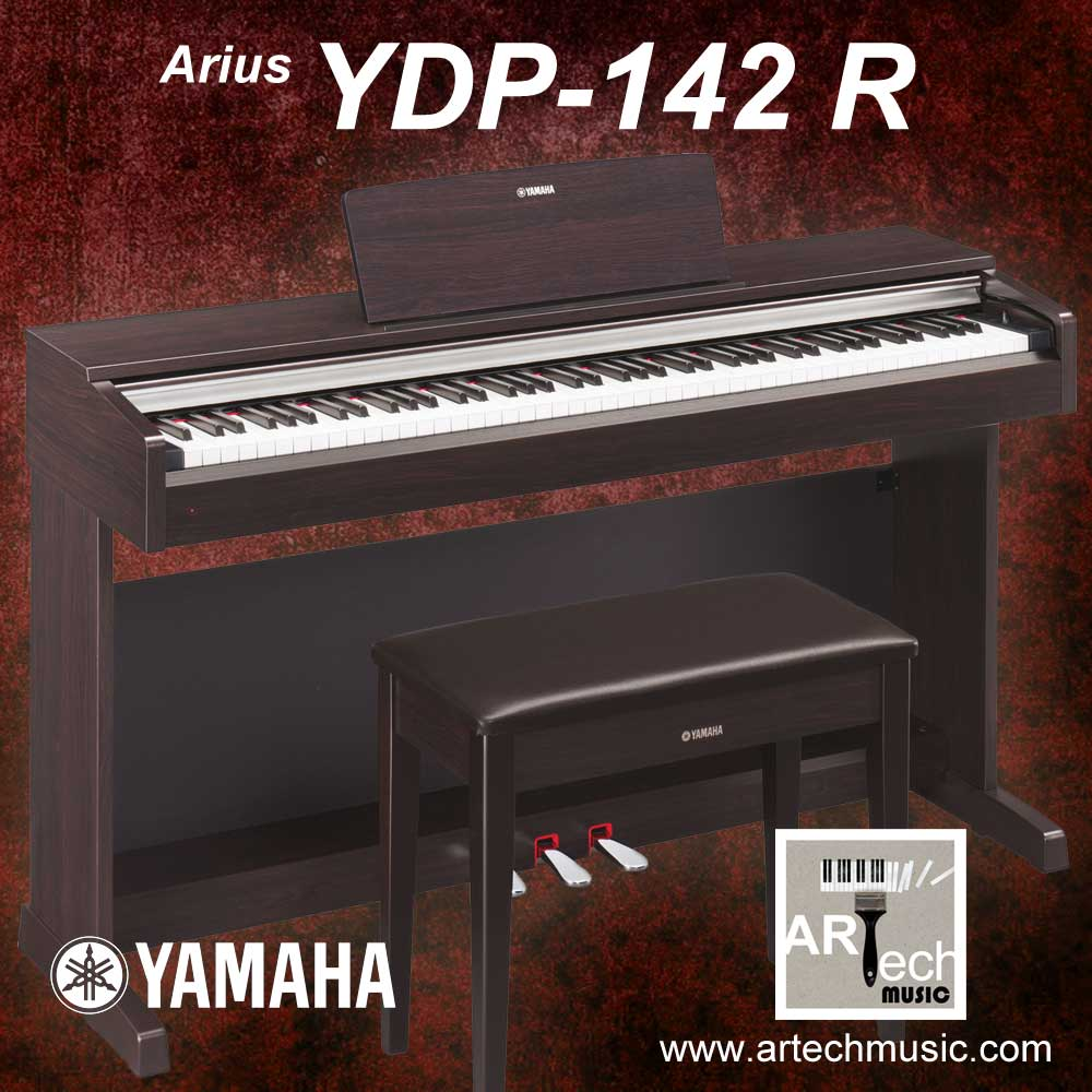 jual yamaha arius ydp 142 ydp 142 ydp142 digital. Black Bedroom Furniture Sets. Home Design Ideas