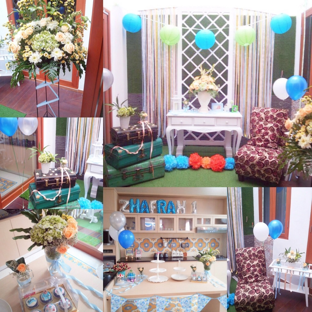 Jual Dekorasi Venue untuk acara Lamaran Ulang Tahun dll Festa